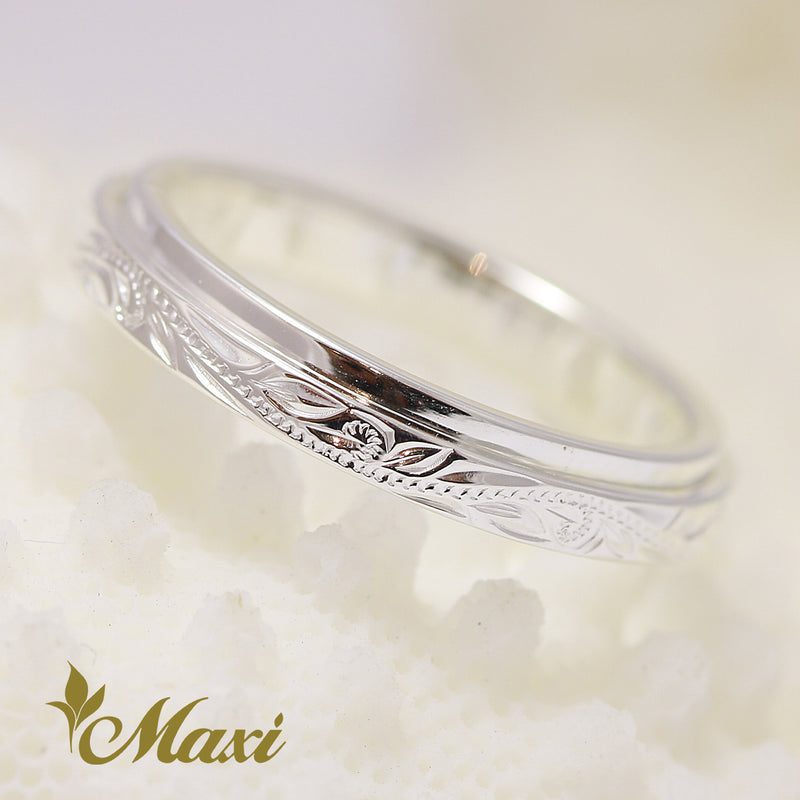 [Silver 925]  -Double Layer Ring 3mm [Made to Order] (R0672)