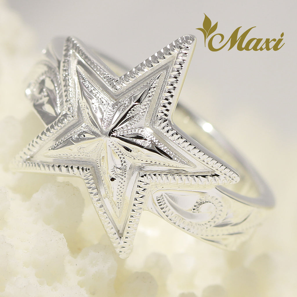 [Silver 925] -Star Ring [Made to Order] (R0795)