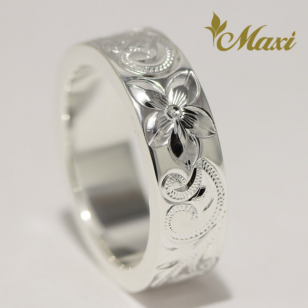 [Silver 925] 6mm*2mm Ring (R0846) [Made to Order]
