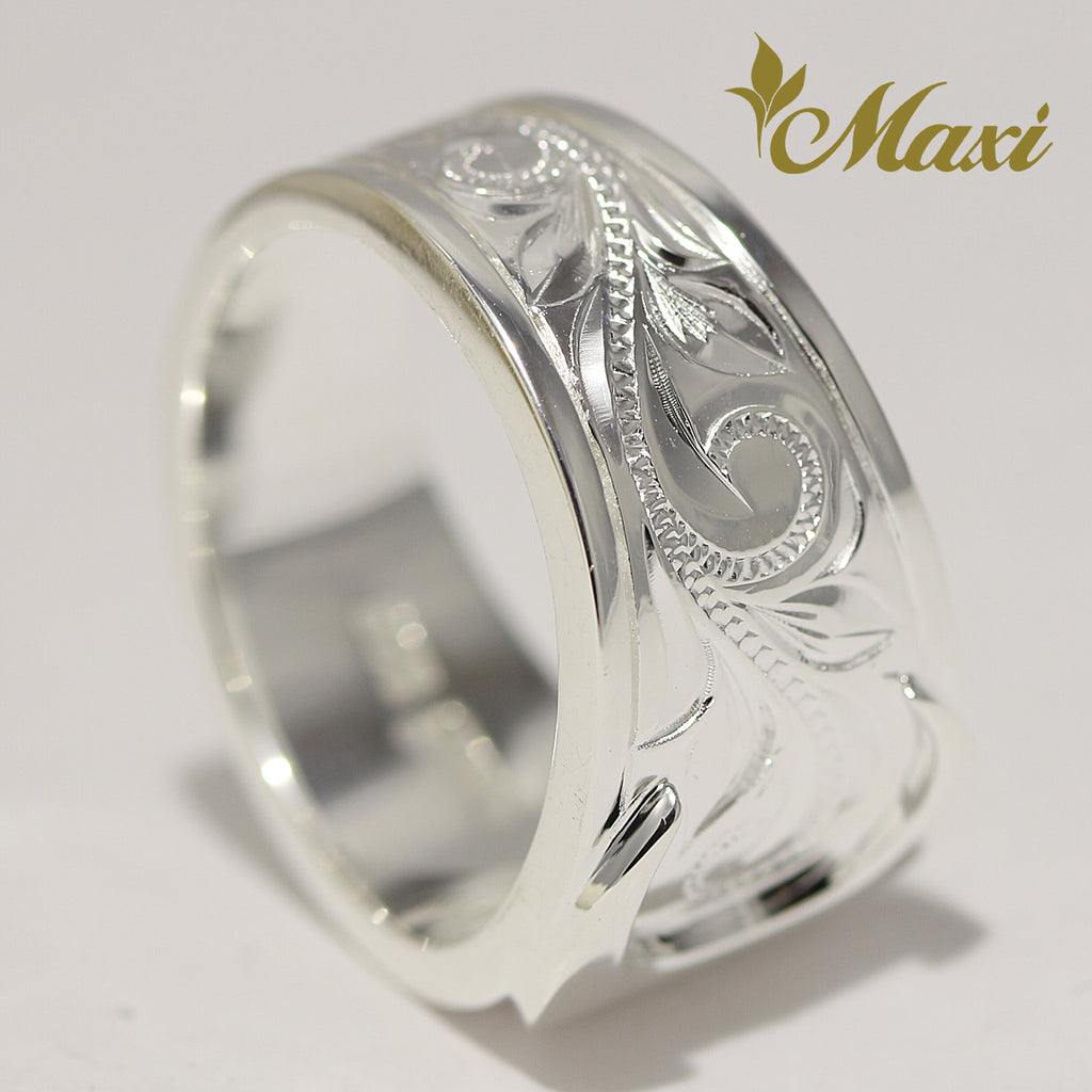 [Silver 925] Tapper Crescent Ring [Made to Order] (R0856)