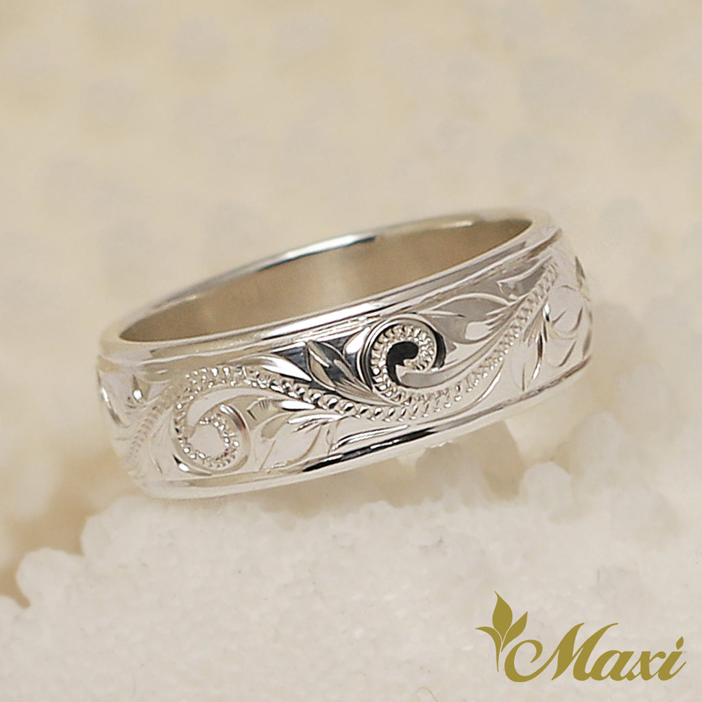 [Silver 925] 6mm Border Ring [Made to Order]
