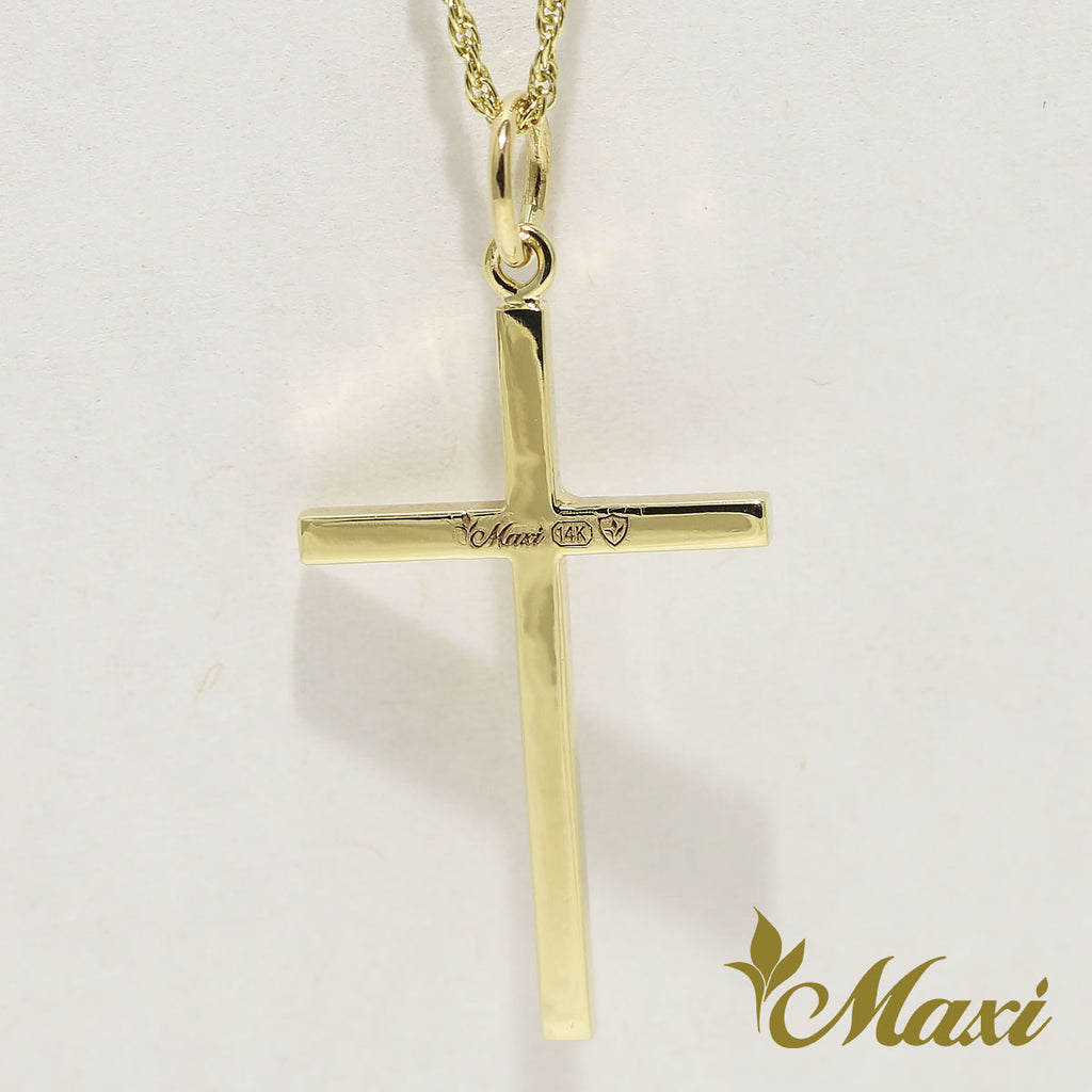 [14K Gold] Cross Pendant *Made-to-order*(TRDSP KN0049)