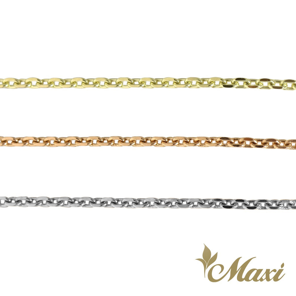 [14K Gold] 1.5mm Cable Chain*Made-to-order*(CB40)