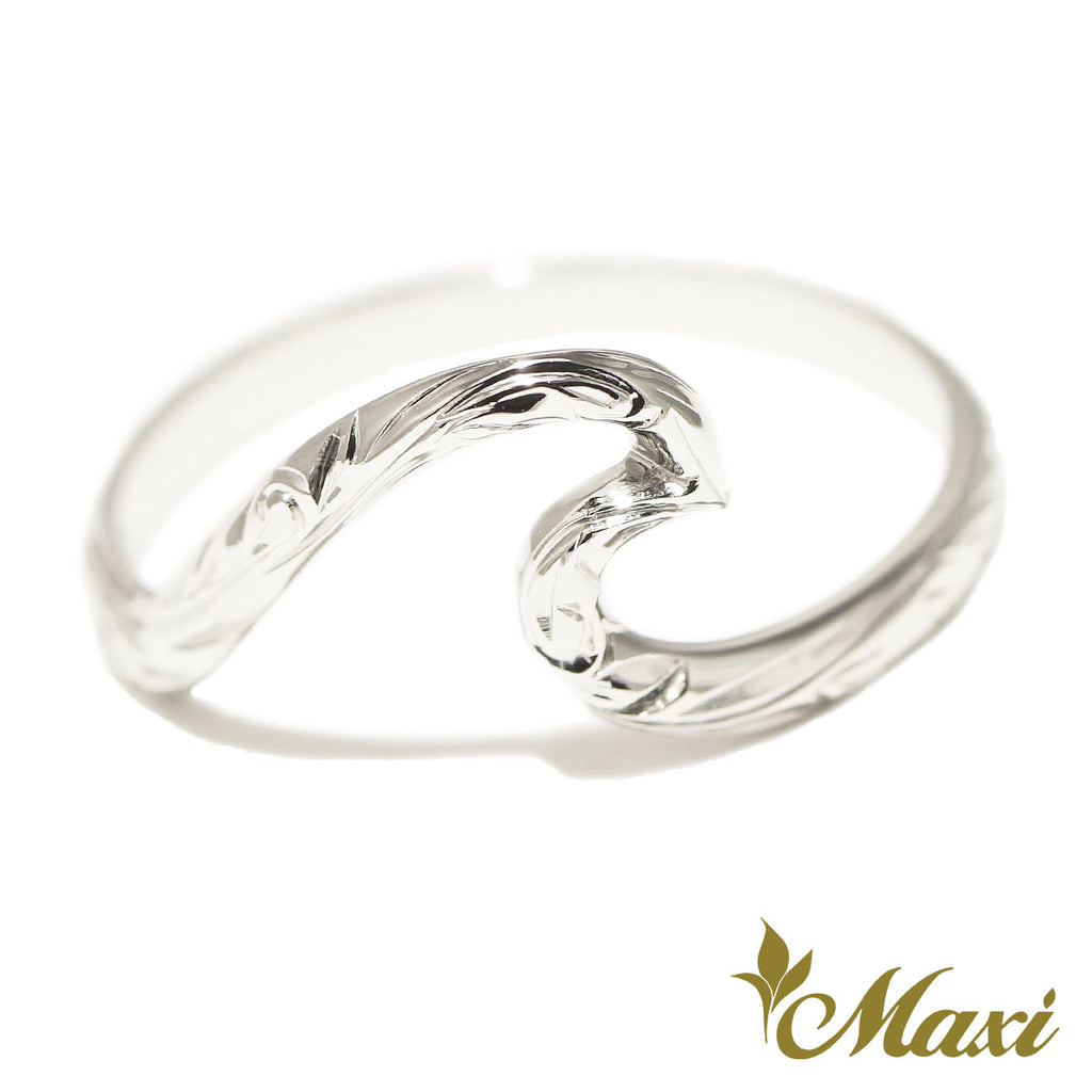 [Silver 925] Large Wave Ring [Made to Order] (KR0039)
