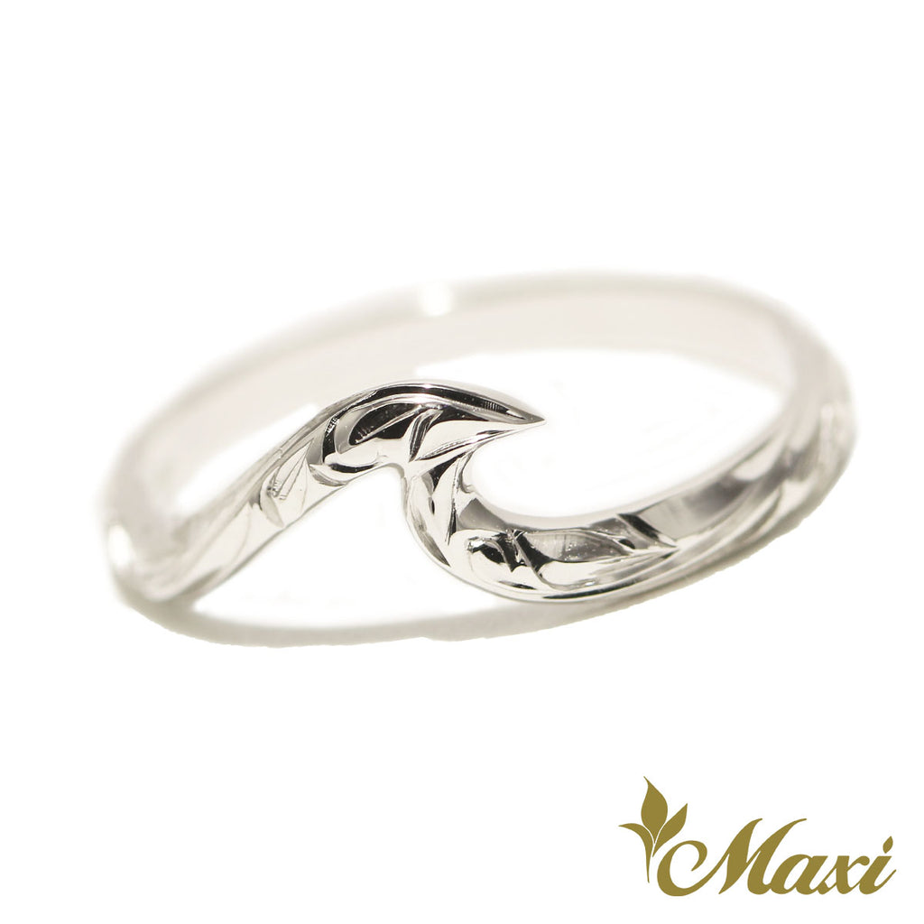 [Silver 925] Small Wave Ring [Made to Order] (KR0040)(Best Seller)