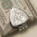 Silver 925 Short Money Clip