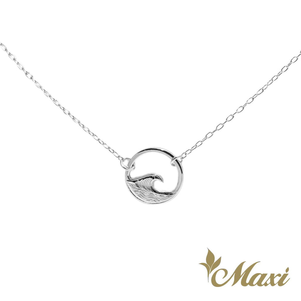 [Silver 925] Nalu Round Necklace *Made-to-order* Newest
