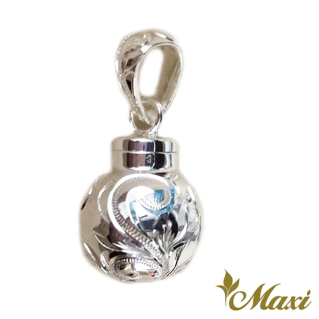 [Silver 925] Ball Shape Cremation Pendant*Made to Order*(P1204)