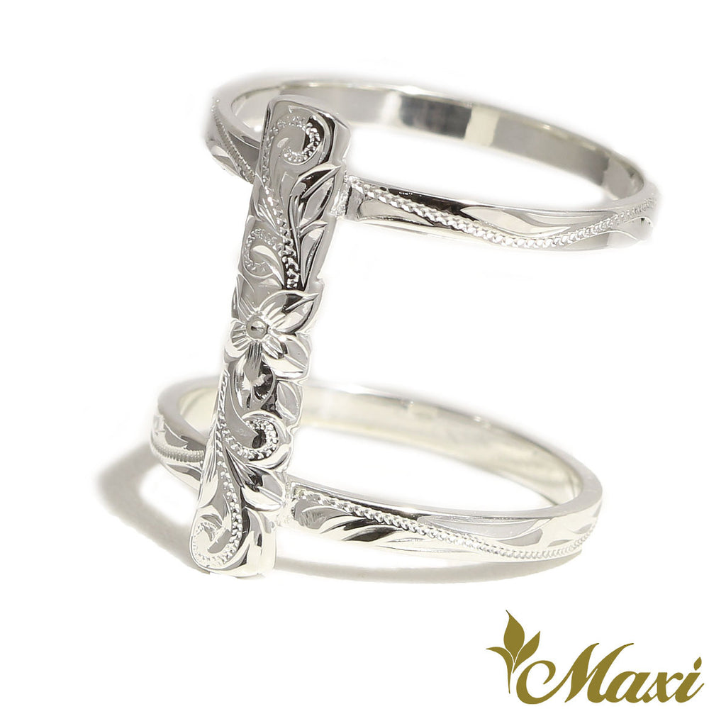 [Silver925] Brenda x Maxi / Scallop Edged Bar Ring [Made to Order] (R0882)
