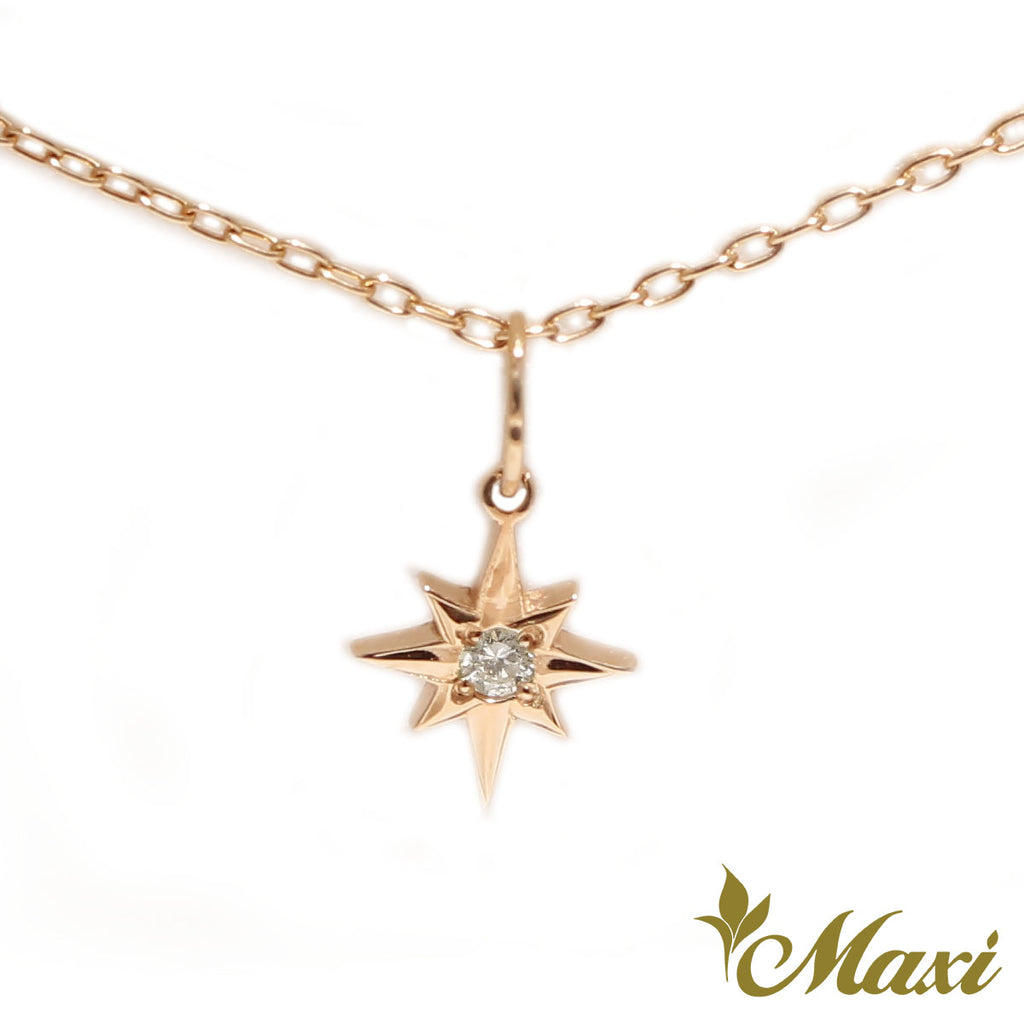 [14K Gold] Sirius Star Hoku Pendant *Made-to-order* Newest