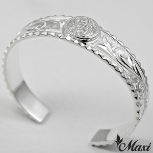 Silver 925 Heavy Bangle