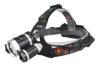 Tactical Gear - The 'NIGHT STALKER'  LED Head-lamp