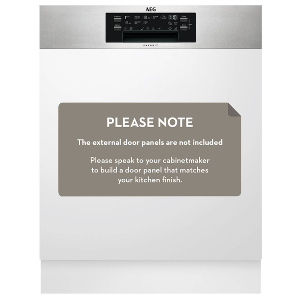 AEG ProClean™ Semi-Integrated Dishwasher FEE83700PM