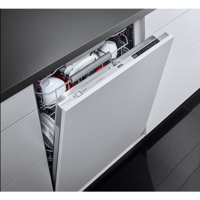 AEG Semi-Integrated Dishwasher FEE92800PM A Class Factory Second