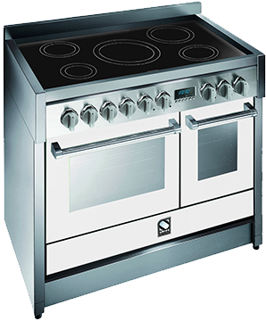 Genesi 100cm Combi-Steam Upright Cooker Dual with 6 Induction zones - G10SF-6I
