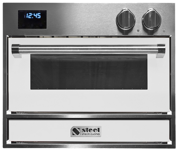 Genesi 60cm x 45cm Built-In Pizza Oven with Intergrated Pizza Stone - GFE6-P