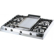 Ilve 90cm Professional Gas Cooktop