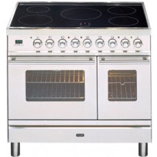 Ilve 90cm Induction top Double Oven