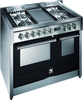 Genesi 100cm Combi-Steam cooker With Teppanyaki Plate