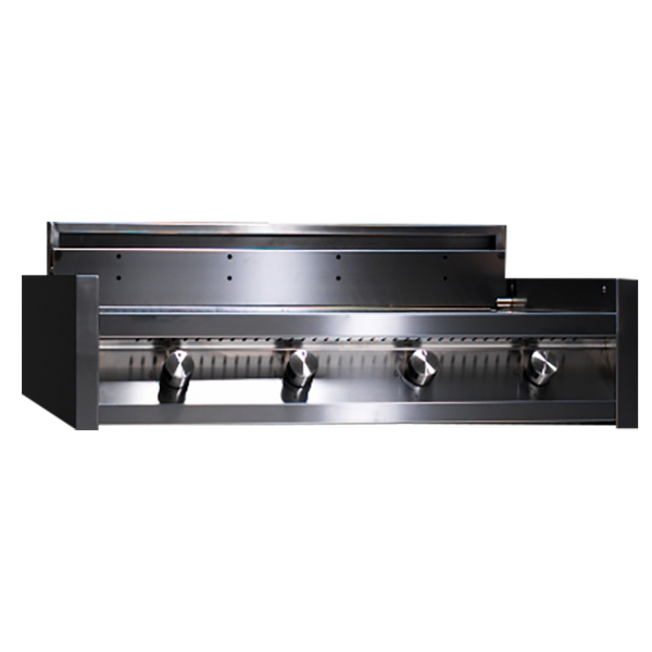 Steel Built-In BBQ with Four Burner Grill - I9-4