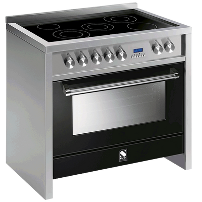 Primo 90cm Multi Function Upright Cooker with 5 Zone Induction Hob - P9F-6I