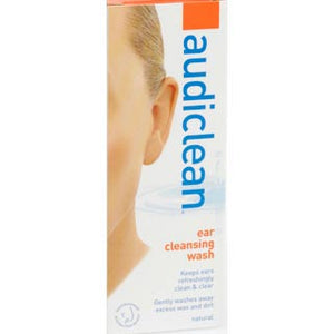 Audiclean Ear Cleansing Wash - 60mL