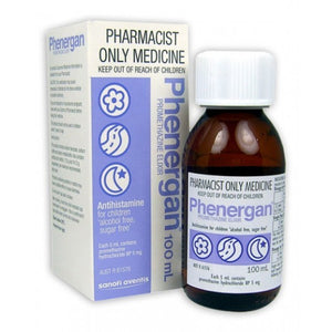 Phenergan Elixir Sugar-Free 100mL
