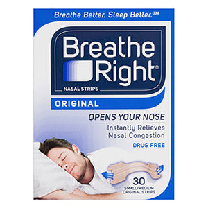 Breathe Right Tan Nasal Strips