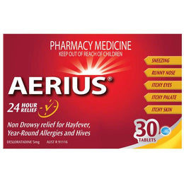 Aerius Antihistamine Tablets 5mg