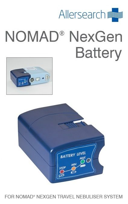 AllerSearch Nomad NexGen Battery Pack
