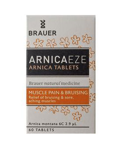 Brauer Arnica Tablets - 60 Tablets