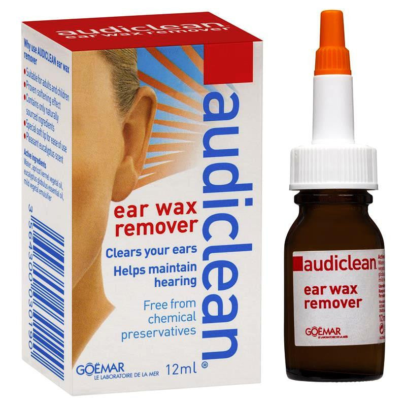Audiclean Ear Wax Removal 12mL
