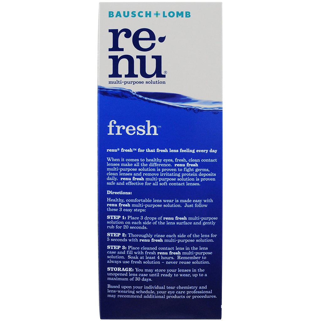 Bausch & Lomb Renu Fresh Multi-Purpose Solution