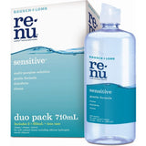 Bausch & Lomb Renu SENSITIVE Multi purpose Duo Pack 710mL + Lense Case