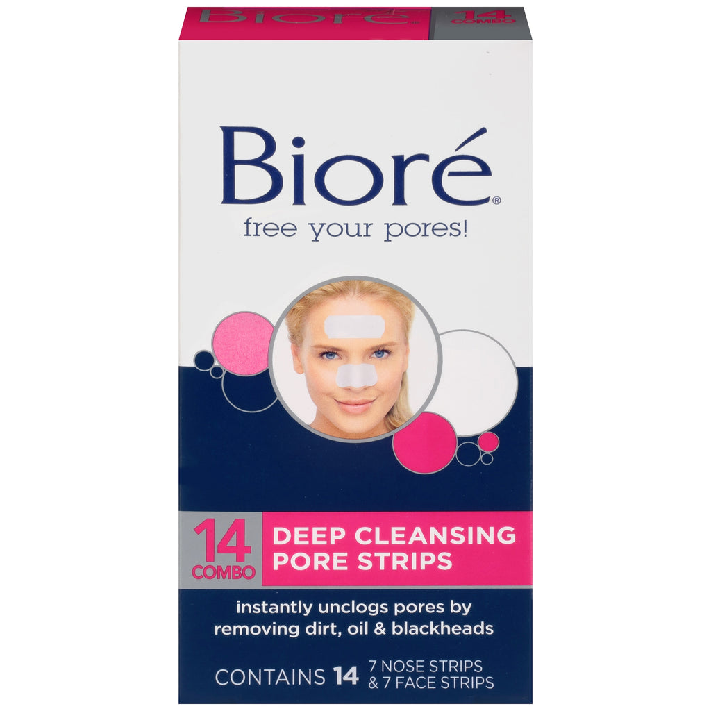 Biore Combo Deep Cleansing Pore Strips 14