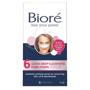 Biore Pore Strip Ultra Pack 6