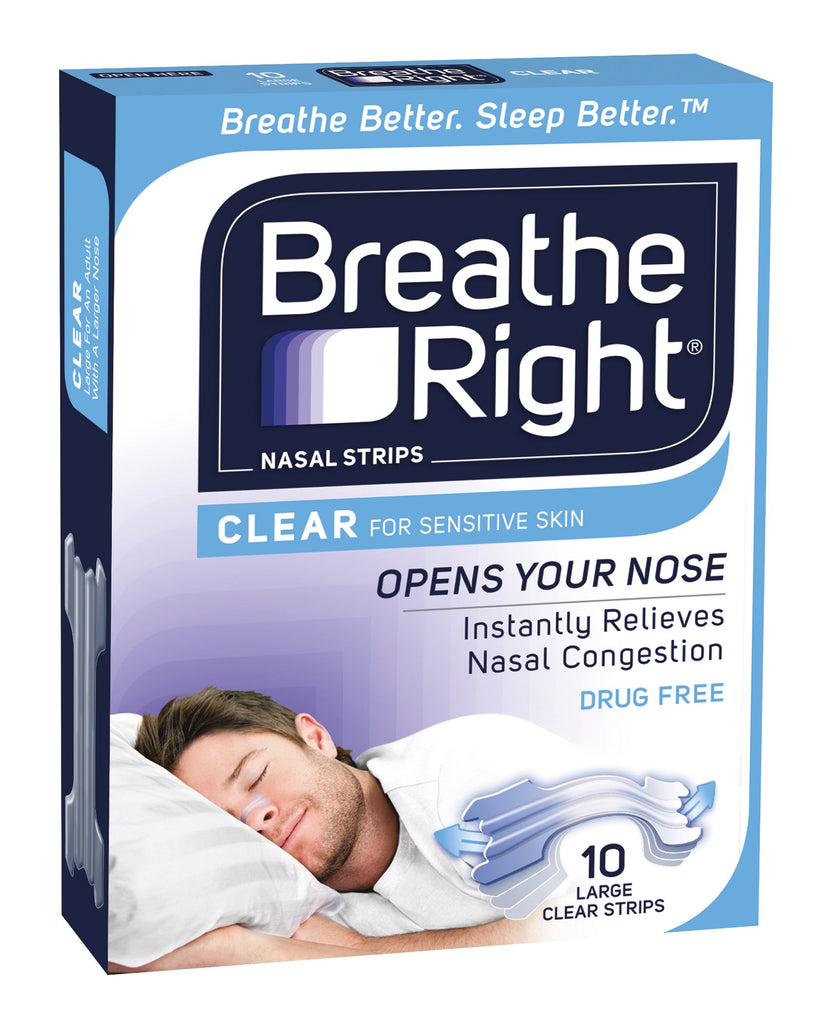 Breathe Right Nasal Clear Large