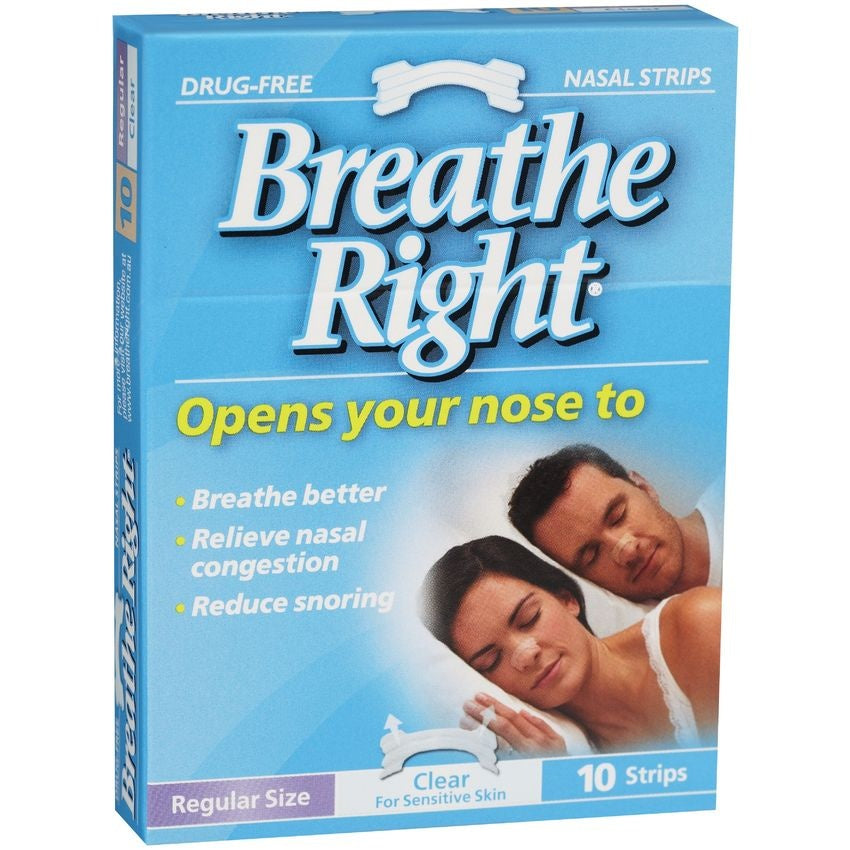 Breathe Right Nasal Clear Regular
