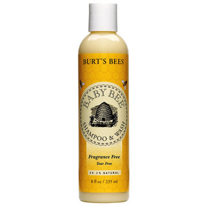Burt's Bees Baby Bee Shampoo Wash Fragrance Free 235mL