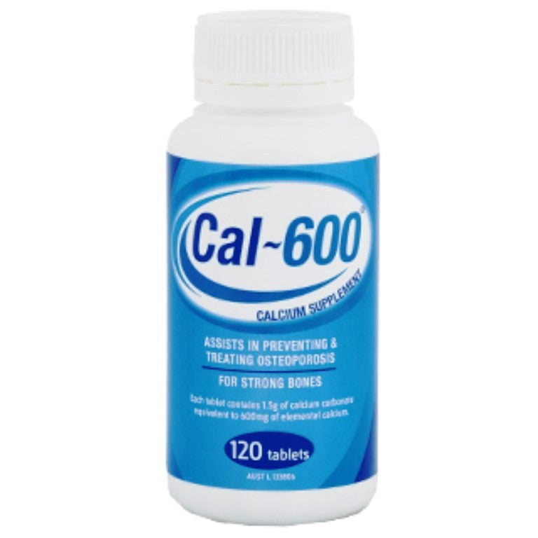 Cal-600 Tablets (600mg Ca) 120