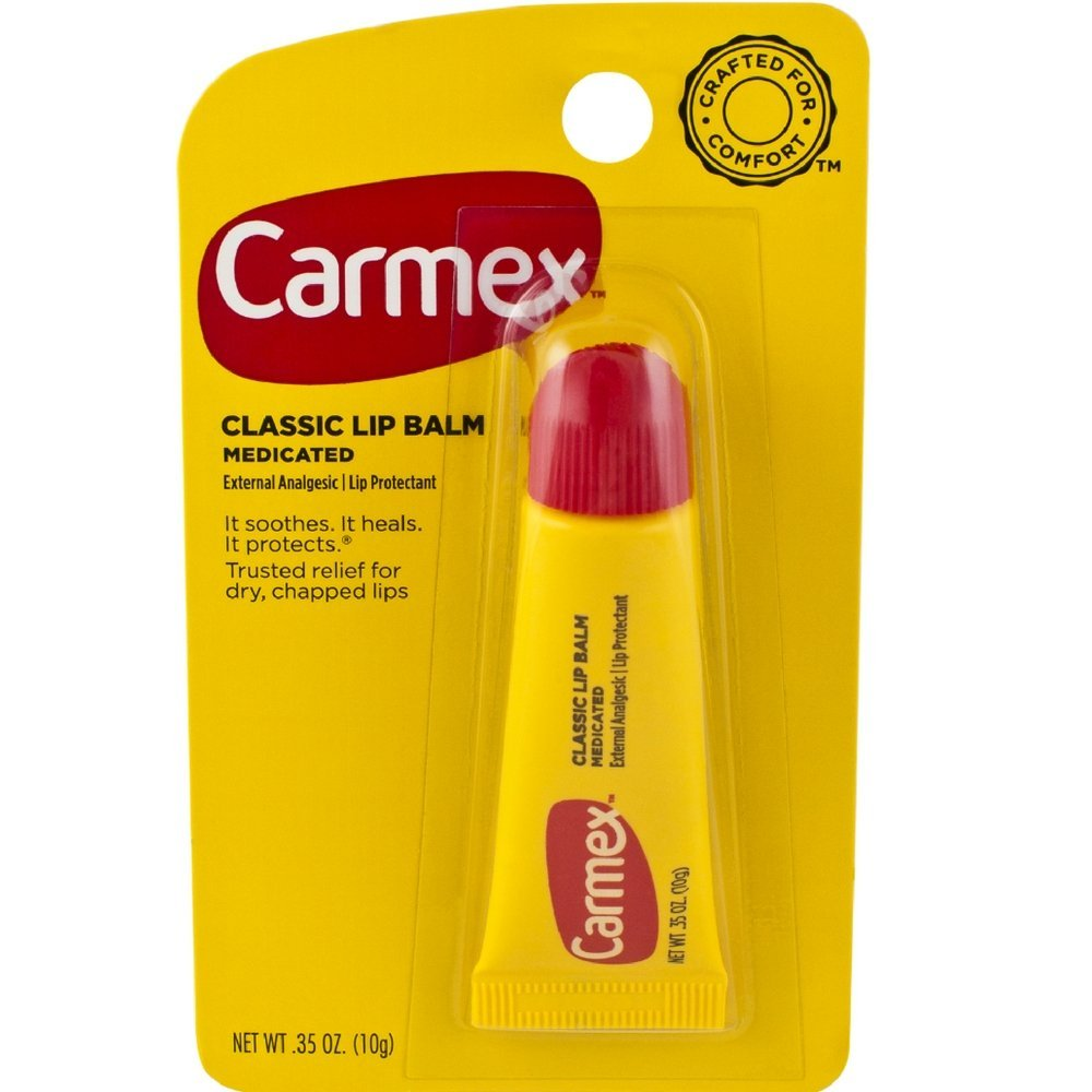 Carmex Lip Balm Tube 10g Classic Unit 12