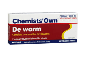 Chemists' Own De Worm Chewable