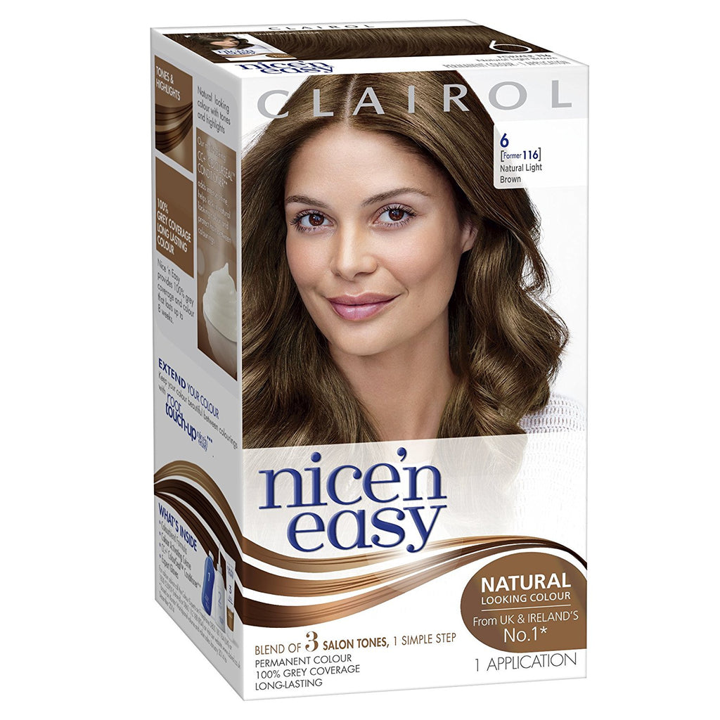 Clairol Nice 'N Easy 116  Light Brown