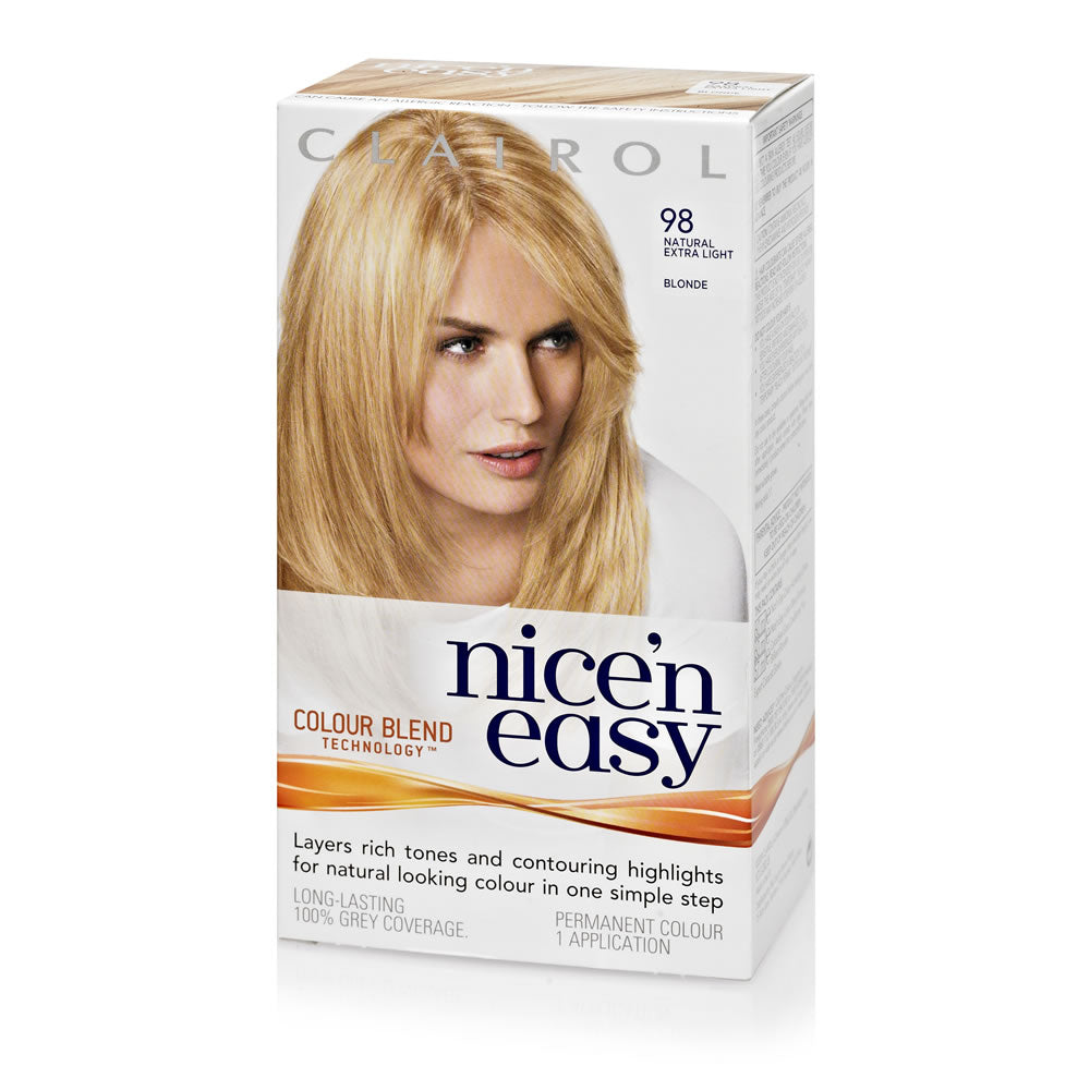 Clairol Nice 'N Easy 98 Extra Light Blonde