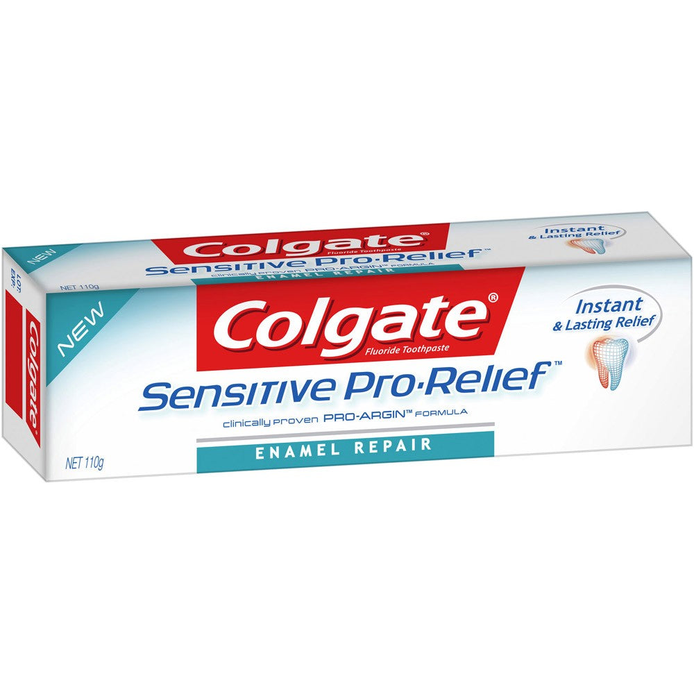 Colgate Toothpaste Sensitive Pro Relief Enamel 110g