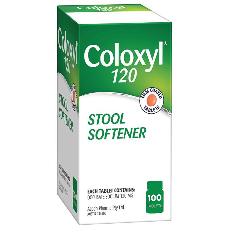 Coloxyl Tablets 100's