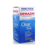 Demazin Clear Syrup 200mL Color-free