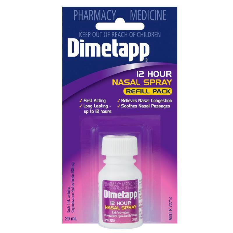 Dimetapp 12 Hours Nasal Spray