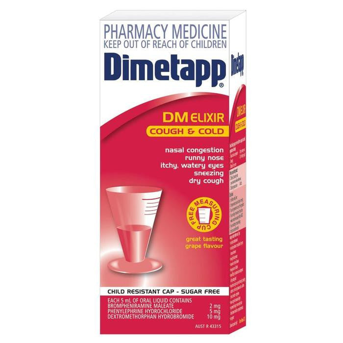 Dimetapp Cough & Cold Elixir