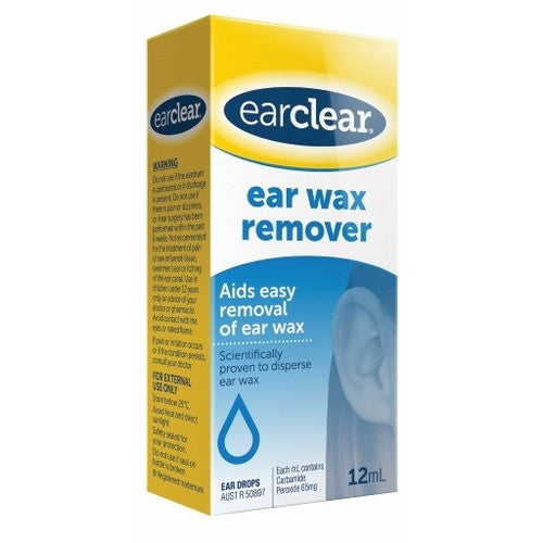 EarClear Wax Remover 12mL